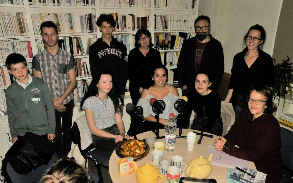 Les lecteurs prennent l'antenne à la bibliothèque Renée Deleigne